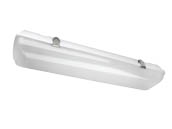 "MaxLite 107593 LSV2U2050 20 Watt, 24"" Dimmable Vapor Tight LED Fixture, 5000K"