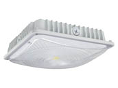 NaturaLED 7495 LED-FXSCM28/40K/WH Dimmable 28 Watt 4000K Slim Canopy LED Fixture
