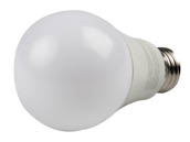 Green Creative 58037 9A19/827/277V Non-Dimmable 9 Watt, 120-277 Volt 2700K A-19 LED Bulb, Enclosed Fixture Rated