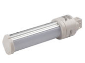 MaxLite 76610 6PLG24QLED35 Maxlite 6W 4 Pin Horizontal 3500K G24q LED Bulb, Ballast Bypass, Rated For Enclosed Fixtures