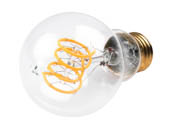 Bulbrite 776509 LED4A19/22K/FIL-NOS/CURV/VICTOR Dimmable 4W 2200K Curved Filament A-19 LED Bulb
