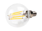 Bulbrite 776673 LED4G16/27K/FIL/E12/2 Dimmable 4.5W 2700K G-16 Filament LED Bulb