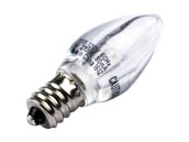 Westinghouse 35111 1C7/LED/CL/CB/27 2CD Non-Dimmable Clear 1W C7 Night Light LED Bulb