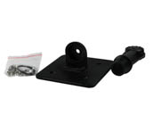 NaturaLED P10006 MT-KNC-SWP/BK Slim Wall Pack Knuckle Bracket Mount, Black