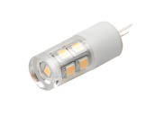 EmeryAllen EA-G4-1.5W-001-3090 Dimmable 1.5W 12V 3000K JC LED Bulb, G4 Base, Enclosed Rated