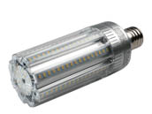 Light Efficient Design LED-8024M57-A 45 Watt 5700K LED Post Top Retrofit Lamp, Ballast Bypass, Mogul Base