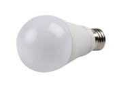 TCP L9A19D2541K Dimmable 9W 4100K A19 LED Bulb, Enclosed Fixture Rated