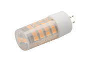 EmeryAllen EA-G4-4.0W-001-309F Dimmable 4W 12V 3000K 90 CRI JC LED Bulb, G4 Base, Enclosed Fixture Rated