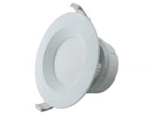 "MaxLite 1408889 RF408ICAT30W Maxlite Dimmable 4"" 7W 3000K Round LED Downlight, No Recessed Can or J-Box Needed"
