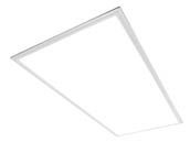 MaxLite 108018 MLFP24EP4041EM Maxlite Dimmable 40 Watt 2x4 ft 4100K Flat Panel LED Fixture with Emergency Battery Back-up