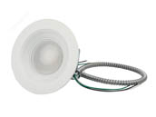 "Halco Lighting 99617 CDL6FR15/950/RTJB/LED Halco Dimmable 15 Watt 5000K, 6"" LED Recessed Downlight Retrofit"