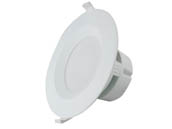 "MaxLite 1408896 RF610ICAT27WJ Maxlite Dimmable 6"" 9W 2700K LED Downlight, No Recessed Can or J-Box Needed, 90 CRI, JA8 Compliant"