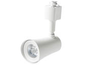 Maximus Lighting 10207 M-10TL-930-WH-24-D Maximus Dimmable 10W 3000K 24 Degree LED Track Head for Halo, Juno or Lightolier Track, White Finish