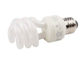 Great Value 01992 14W/2700K Spiral  12 PK 60W Incandescent Equivalent, 10000 Hour, 14 Watt, 120 Volt Warm White CFL Bulb.