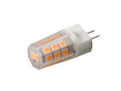 EmeryAllen EA-G4-2.5W-001-279F Dimmable 2.5W 12V 2700K JC LED Bulb, G4 Base, Enclosed Fixture Rated