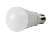 TCP L15A19D2530K Dimmable 15 Watt 3000K A-19 LED Bulb, Enclosed Fixture Rated