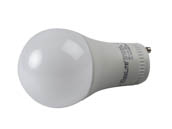 MaxLite 1409338 9A19GUDLED30/G5 Dimmable 9W 3000K A19 LED Bulb, GU24 Base
