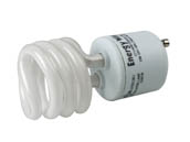 Bulbrite 509700 CF13WW/T2/GU24 13W Warm White GU24 Spiral CFL Twist & Lock Bulb