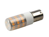 EmeryAllen EA-BA15s-4.0W-001-309F Dimmable 4W 12V 3000K 90 CRI T3 LED Bulb, BA15s Base, Enclosed Fixture Rated