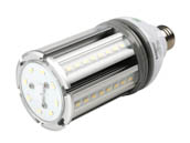 Satco Products, Inc. S9390 18W/LED/HID/5000K/100-277V E26 Satco Non-Dimmable 18 Watt Hi-Pro LED Multi-Beam Retrofit Lamp, 5000K, Ballast Bypass