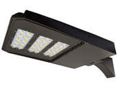 "NaturaLED 7636-P10105 LED-FXSAL240/40K/DB/3S Dimmable 750-1000 Watt Equivalent, 240 Watt 4000K LED Area Light Fixture With 6"" Extruded Arm"