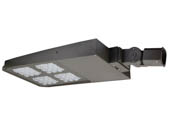 NaturaLED 7641-P10101-K141030 LED-FXSAL360/50K/DB/3S Dimmable 1000-1500 Watt Equivalent, 360 Watt 5000K LED Area Light Fixture With Photocell and Slip Fitter Mount