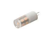 EmeryAllen EA-G4-1.5W-001-309F Dimmable 1.5W 12V 3000K 90 CRI JC LED Bulb, G4 Base, Enclosed Fixture Rated