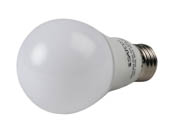 Satco Products, Inc. S29838 9.8A19/OMNI/220/LED/40K Satco Dimmable 9.8W 4000K A19 LED Bulb, Enclosed Fixture Rated