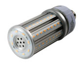 TCP L24MHE265040K 24W 4000K E26 Base Post Top/Wallpack LED Retrofit Lamp, Ballast Bypass