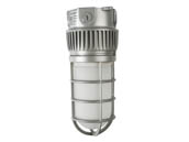 NaturaLED 7607 LED-FXVTJ20/840/MV-CM 20W 4000K Ceiling Mount LED Vapor Tight Jelly Jar Fixture