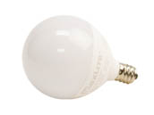 MaxLite 101459 5G16.5DLED27 Maxlite Dimmable 5W 2700K G-16.5 Frosted Globe LED Bulb, E12 Base
