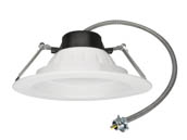 "MaxLite 1410032 RCF81340W 13 Watt, 4000K, 120-277V, 8-10"" LED Recessed Downlight"