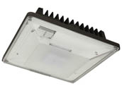 MaxLite 1408349 CPL20AUP50B 100 Watt MH Equivalent, 20 Watt 5000K LED Low-Profile Parking Garage Fixture