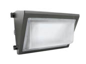 GlobaLux Lighting LWP-50-MV-850 GlobaLux 175-250 Watt Equivalent, 50 Watt Forward Throw LED Wallpack Fixture, 5000K