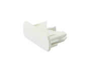 Lightolier 56430WH Lytespan Radius Cover for Dead End, Matte White