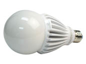 Green Creative 97973 25HID/840/277V/E26 Non-Dimmable 25W 120-277V 4000K A-23 LED Bulb, Enclosed Fixture Rated, E26 Base