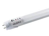 "Aleddra LED Lighting YSH-T812-Y01-18(G13)4000K Aleddra 18W 48"" Always-On T8 4000K LED Bulb with Battery Backup, Ballast Bypass"