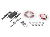 American Lighting STL-WW-5MKIT Single Color Standard Grade Trulux Tape Light Kit Warm White 3000K