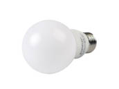 Satco Products, Inc. S29839 9.8A19/OMNI/220/LED/50K Satco Dimmable 9.8W 5000K A19 LED Bulb, Enclosed Fixture Rated