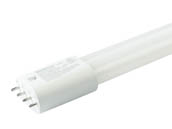 Satco Products, Inc. S9951 23PLL/LED/840/BP Satco 23 Watt, 4000K 4-Pin Non-Dimmable Ballast Bypass Long Single Twin Tube PL-L LED 2G11 Base Bulb