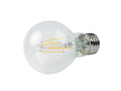 QLS FA19D4027KC Dimmable 4.5W 2700K A19 Filament LED Bulb, Enclosed Rated
