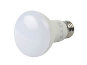 QLS LR20D5027E Dimmable 7 Watt 2700K R20 LED Bulb, Enclosed Rated