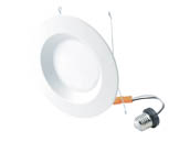 "Halco Lighting 99641 DL6FR12/927/ECO/LED2 Halco Dimmable 12 Watt 2700K, 5""/6"" LED Recessed Downlight Retrofit, JA8 Compliant"