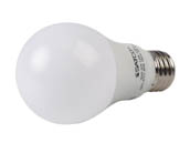 Satco Products, Inc. S8914 8.5A19/LED/27K /120-277V Satco Non-Dimmable 8.5 Watt, 120-277 Volt 2700K A-19 LED Bulb, Enclosed Rated