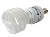 Bulbrite 509010 CF13WW/E12 13W 120V Warm White Spiral CFL Bulb, E12 Base