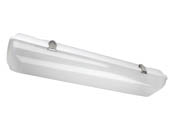 MaxLite 14099611 LSV2U2540 25 Watt, 2 ft. Dimmable Vapor Tight LED Fixture, 4000K