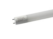 "Satco Products, Inc. S9722 15T8/LED/48-840/BP/120-277V Satco 15W 48"" T8 4000K Glass LED Bulb, Ballast Bypass"