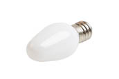 Westinghouse 55109 0.75C7/LED/F/CB/27 2CD Non-Dimmable Frosted 0.75W C7 Night Light LED Bulb, Enclosed Rated (Pack of 2)