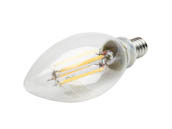 TCP FB11D6027EE12CS QLS Dimmable 5.5W 2700K Decorative Filament LED Bulb, Enclosed Rated