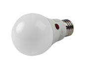 MaxLite 100847 DTD9A19ND27 Maxlite Non-Dimmable 9W 2700K Dusk To Dawn A19 LED Bulb, Enclosed Rated